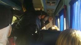 aglomeratie în microbuze
