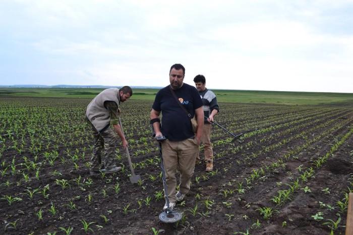 descoperirea a fost facută de o echipa condusa de Liviu Marta
