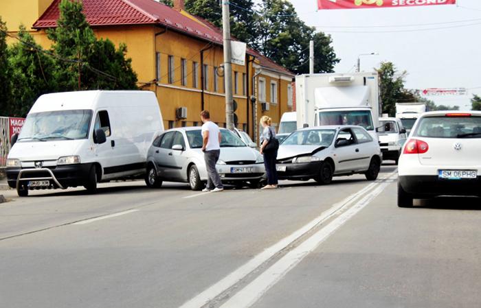 Accident rutier pe strada Botizului