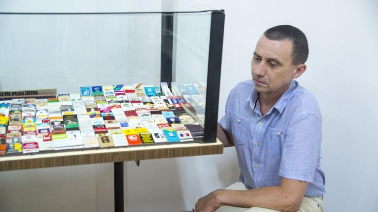 Expoziției de cutii de chibrituri la Carei. Colecția lui Nagy Levente