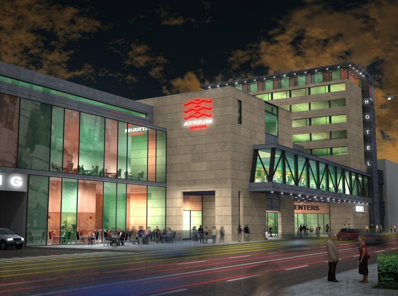Așa ar fi arătat Atrium Center la Satu Mare