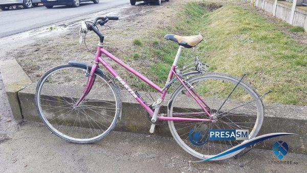 Accident biciclist Odoreu