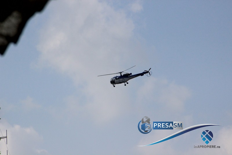 Elicopter MAI la Satu Mare