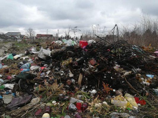 Gunoaie și mocirlă în cimitirele din Satu Mare
