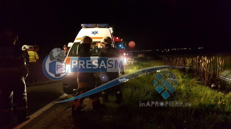Accident aeroport Satu Mare