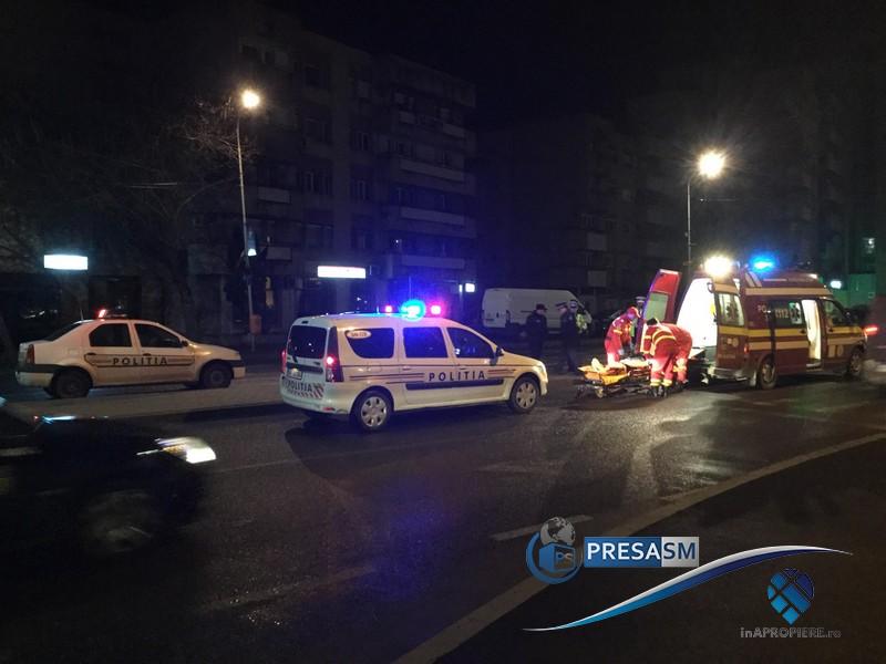 Persoană lovită pe trecerea de pietoni, în zona Podului Golescu