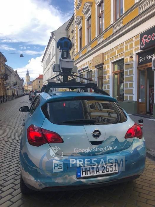 Google Street View masina