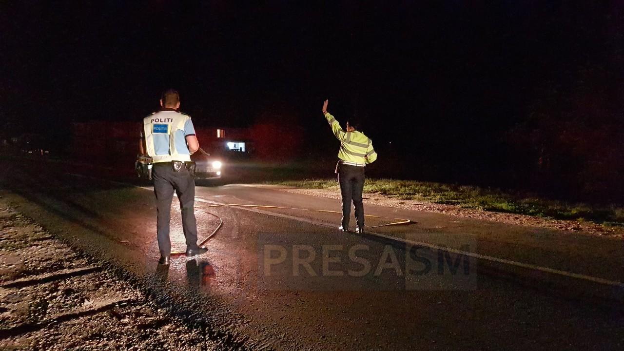 Accident neobișnuit la Satu Mare. Un pieton susține că a fost lovit de TIR