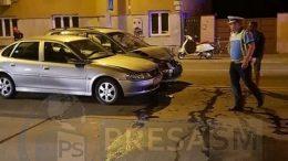 Accident pe drumul Botizului