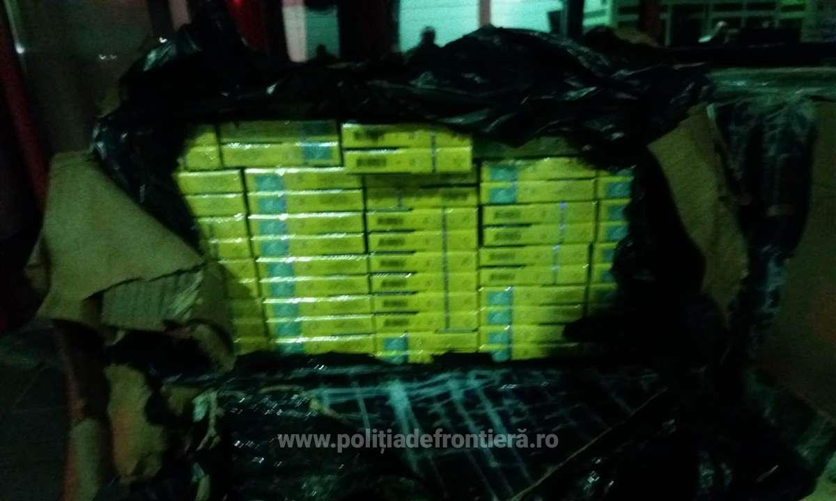 Contrabandă cu țigări la Satu Mare