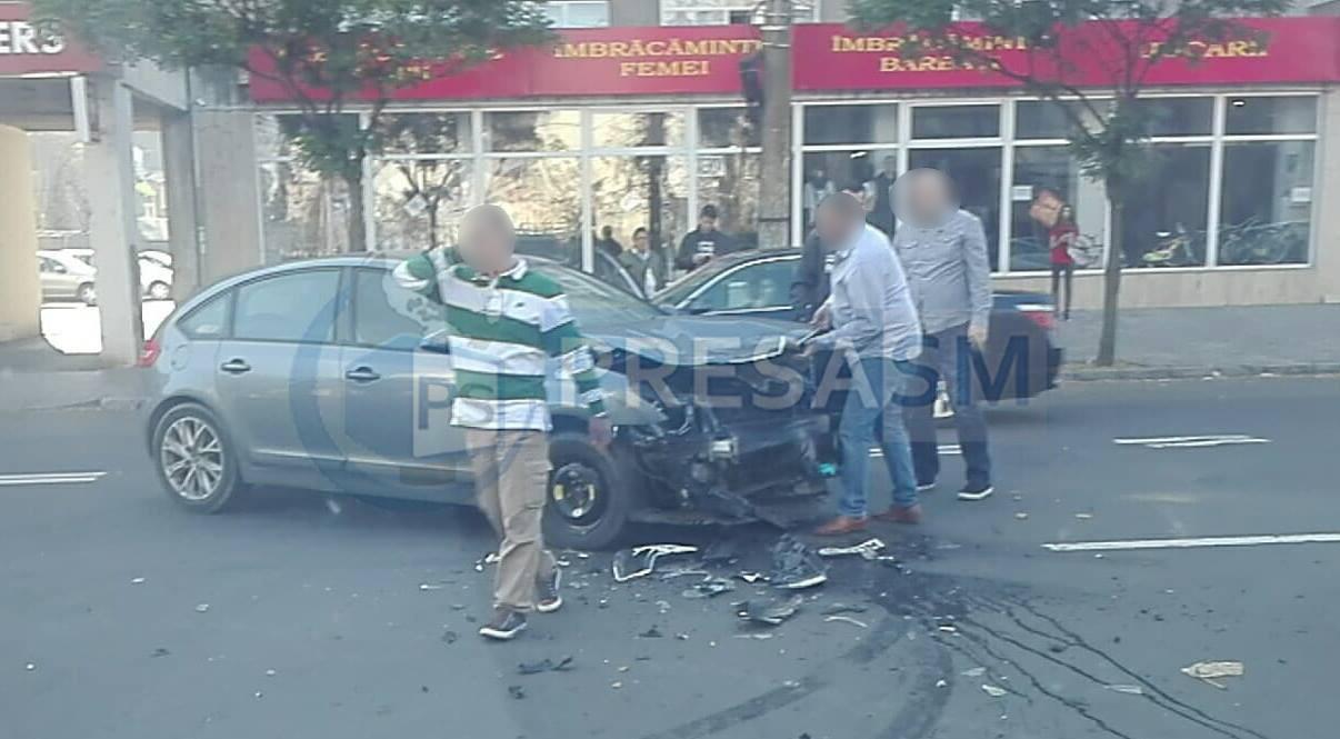 Accident pe Calea Traian Satu Mare
