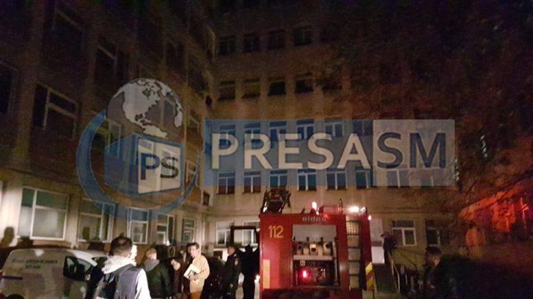 Incendiu Spitalul Județean Satu Mare