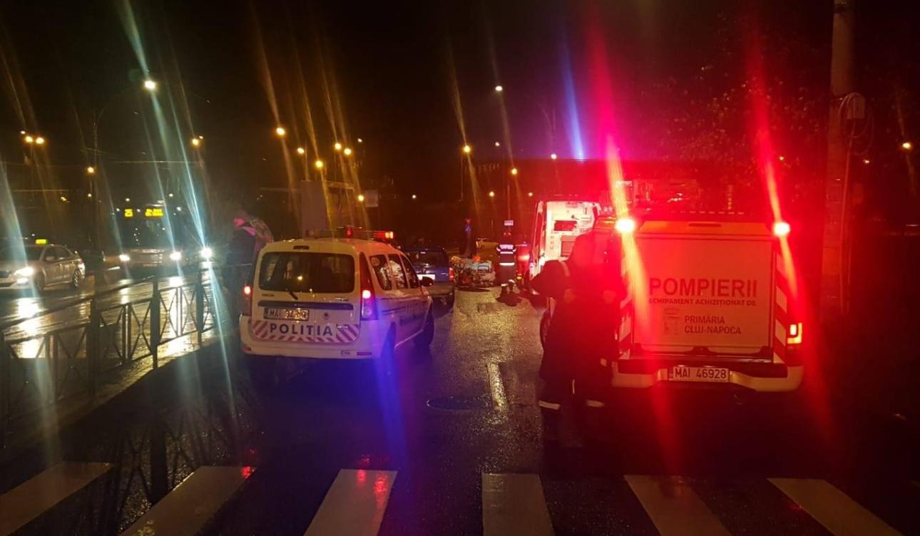 Sătmăreanca accident Cluj