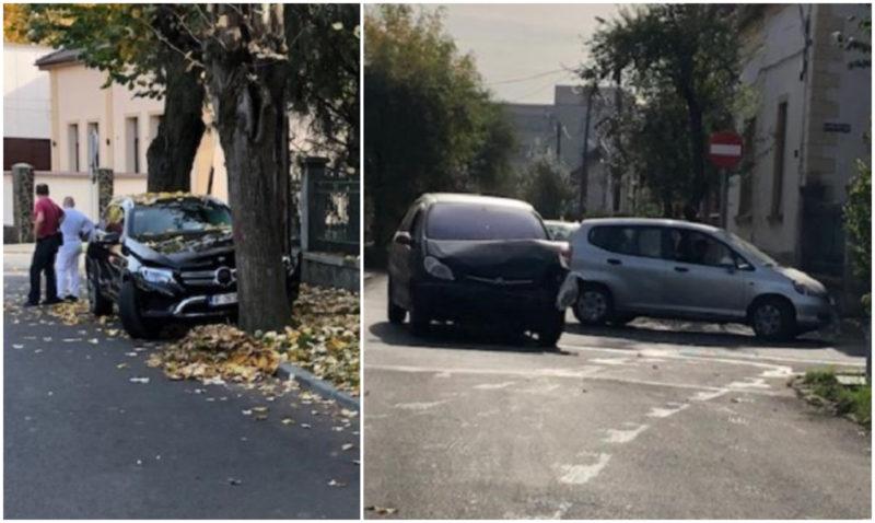 Accident în municipiul Satu Mare
