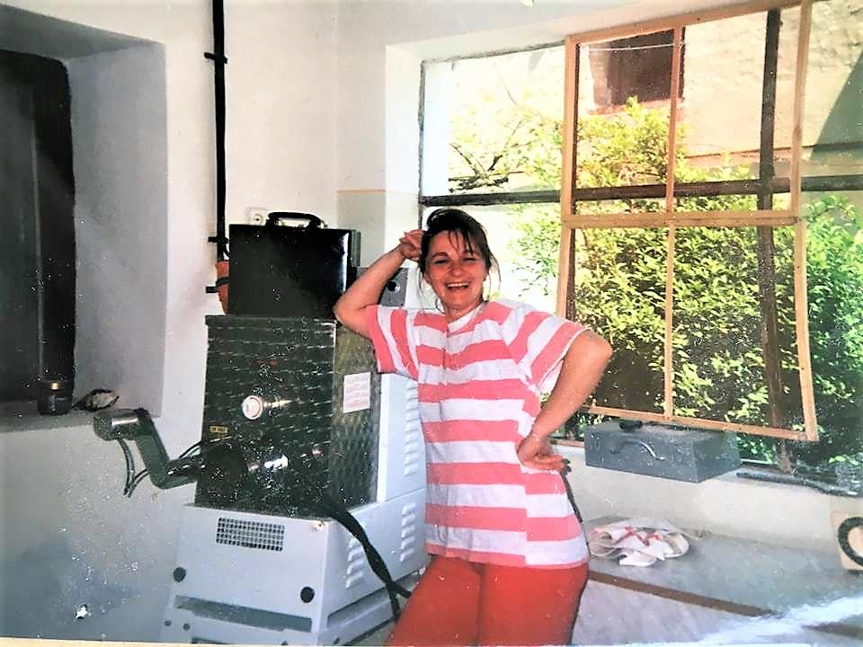 Margareta Ardelean, în 1994, la înființarea companiei