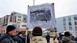 Protest la Satu Mare față de OUG 7