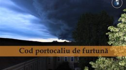 Cod portocaliu de furtuna meteo
