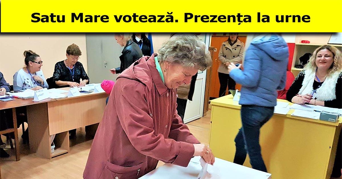 Alegeri prezidențiale 2019 Satu Mare Primul tur