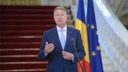 Klaus Iohannis, declaratii de presa