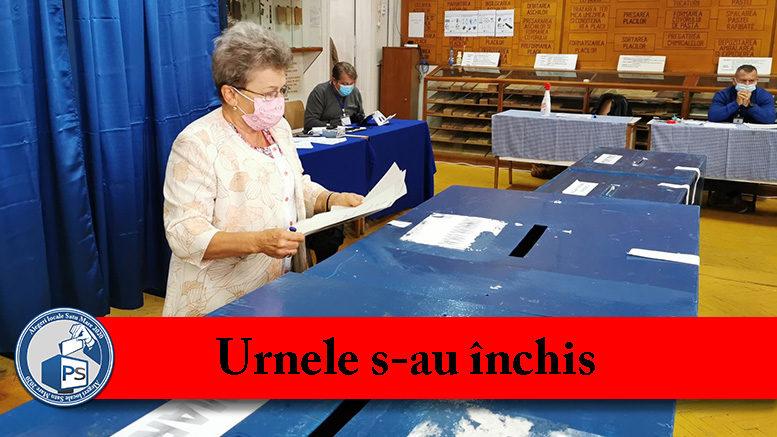 Alegeri locale 2020 Satu Mare urnele s-au inchis