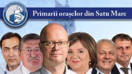 Primarii municipiilor și orașelor din județul Satu Mare